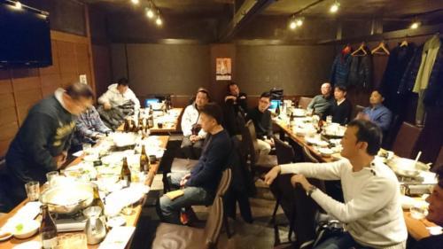 2019.12.15:H2卒中心の有志OB忘年会
